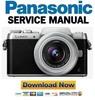 Thumbnail Panasonic Lumix DMC-GF8 GF8K GF8X GF8W Service Manual