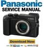 Thumbnail Panasonic Lumix DMC-GX8 GX8H GX8K GX8A Service Manual