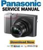 Thumbnail Panasonic Lumix DMC-TZ100 TZ101 TZ110 ZS100 ZS110 Service Manual