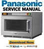 Thumbnail Panasonic NE 12521 12523 1252 Service Manual Repair Guide