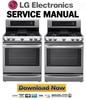 Thumbnail LG LRG4115ST Service Manual & Repair Guide