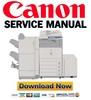 Thumbnail Canon ImageRunner C2550 C2550i C2380i C3080 C3080i C3480 C3480i C3580 C3580i Service Manual + Parts List