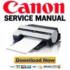 Thumbnail Canon imagePROGRAF IPF500 Service Manual + Parts List