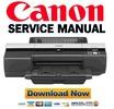 Thumbnail Canon imagePROGRAF iPF5000 Service Manual + Parts List