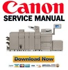 Thumbnail Canon imageRunner Advance PRO 8205 8285 8295 Service Manual + Parts List