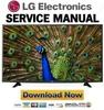 Thumbnail LG 49UF6400 Service Manual and Repair Guide