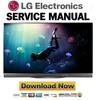 Thumbnail LG OLED65E6P Service Manual and Repair Guide