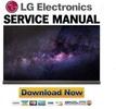 Thumbnail LG OLED77G6P Service Manual and Repair Guide