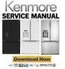 Thumbnail Kenmore 70329 70322 70323 French door refrigerator service manual