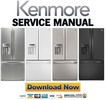 Thumbnail Kenmore 71032 71033 71039 71036 French door refrigerator service manual