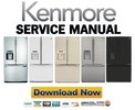 Thumbnail Kenmore 72033 72039 72032 72036 72034 French door refrigerator service manual