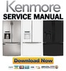 Thumbnail Kenmore 72053 72052 72059 French door refrigerator service manual