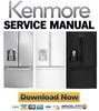 Thumbnail Kenmore 74043 74042 74049 French door refrigerator service manual.pdf