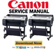 Thumbnail Canon imagePROGRAF IPF650 Service Manual and Repair Guide