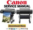 Thumbnail Canon IPF6300S IPF6200 IPF6100 IPF6000S Service Manual