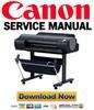 Thumbnail Canon imagePROGRAF iPF6300 iPF6350 Service Manual