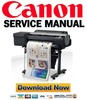 Thumbnail Canon imagePROGRAF iPF6400 Service Manual
