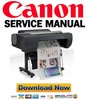 Thumbnail Canon imagePROGRAF iPF6450 Service Manual and Repair Guide