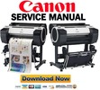 Thumbnail Canon imagePROGRAF iPF680 Service Manual and Repair Guide