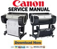 Thumbnail Canon imagePROGRAF iPF685 Service Manual and Repair Guide