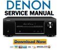 Thumbnail Denon AVR 1613 1713 1723 Service Manual & Repair Guide