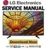 Thumbnail LG 49UH6100 43UH6100 49UH6030 43UH6030 49UH6090 Service Manual