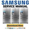 Thumbnail Samsung RF4289HARS Refrigerator Service Manual