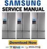 Thumbnail Samsung RM255LASH RM255LARS RM255LABP Refrigerator Service Manual