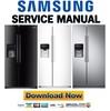 Thumbnail Samsung RS25J500DBC RS25J500DWW RS25J500DSR RS25J5008SP Service Manual