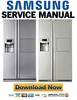 Thumbnail Samsung RSH5ZPTPN RSH5PTTS RSH5UTRS RSH5ZEPN Service Manual & Repair Guide