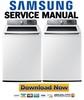 Thumbnail Samsung WA48H7400AW Service Manual & Repair Guide