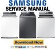 Thumbnail Samsung WA48J7700AW WA48J7770AP WA48J7770AW Service Manual & Repair Guide