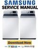 Thumbnail Samsung WA50F9A6DSW Service Manual & Repair Guide