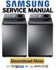 Thumbnail Samsung WA50F9A8DSP A2 Service Manual & Repair Guide