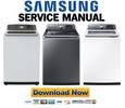Thumbnail Samsung WA52J8060AW WA52J8700AP WA52J8700AW Service Manual & Repair Guide