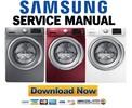 Thumbnail Samsung WF42H5200AP WF42H5200AF WF42H5200AW Service Manual & Repair Guide