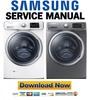 Thumbnail Samsung WF42H5600AW WF42H5600AP Service Manual & Repair Guide