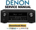 Thumbnail Denon AVR S920W X2300W Service Manual and Repair Guide