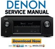 Thumbnail Denon AVR X3300W Service Manual and Repair Guide