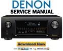 Thumbnail Denon AVR X4200W Service Manual and Repair Guide