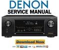 Thumbnail Denon AVR X4300H Service Manual and Repair Guide
