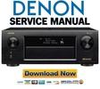 Thumbnail Denon AVR X6300H Service Manual and Repair Guide