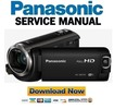 Thumbnail Panasonic HC W580 W580M Full HD Camcorder Service Manual