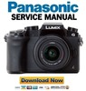 Thumbnail Panasonic Lumix DMC G7 G7M G7W G7K G70 4K Mirrorless Lens Camera Service Manual