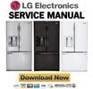 Thumbnail LG LFX31925ST LFX31925SB LFX31925SW Refrigerator Service Manual