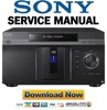 Thumbnail Sony BDP CX7000ES Multi Disc Blu Ray Player Service Manual
