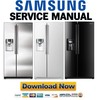 Thumbnail Samsung RS267TDRS RS267TDWP RS267TDBP RS267TDPN Service Manual