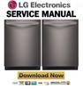 Thumbnail LG LDF7774BD Dishwasher Service Manual