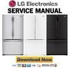 Thumbnail LG LFCS25426S LFC25776ST LFC25776SB LFC25776SW Service Manual