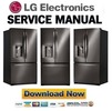 Thumbnail LG LFX28968D Service Manual & Repair Guide